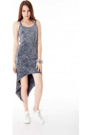 Bsl Fashion Siyah Elbise 9338
