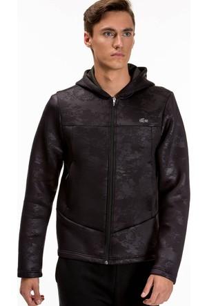 Lacoste Erkek Siyah Sweatshirt SH7977.U3L