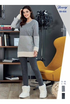 Dowry 09-635 Kışlık Bayan Pijama Takımı
