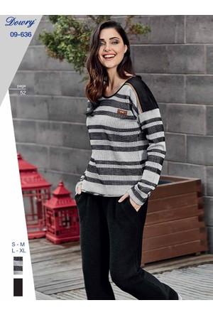 Dowry 09-636 Kışlık Bayan Pijama Takımı