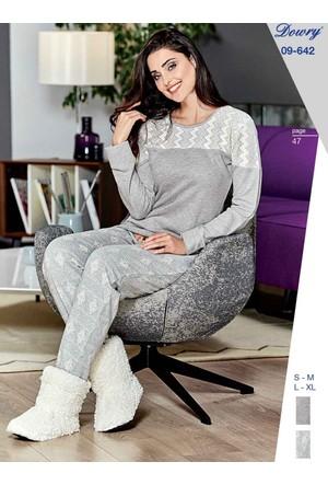 Dowry 09-642 Kışlık Bayan Pijama Takımı
