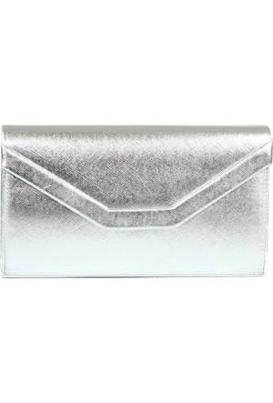 Damy 00440 Abiye Çanta Gümüş