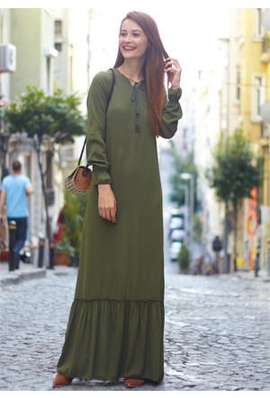 Femme Krinkıl Kumaş Elbise