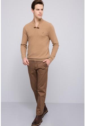 U.S. Polo Assn. Erkek Kenn7S Kot Pantolon Kahverengi