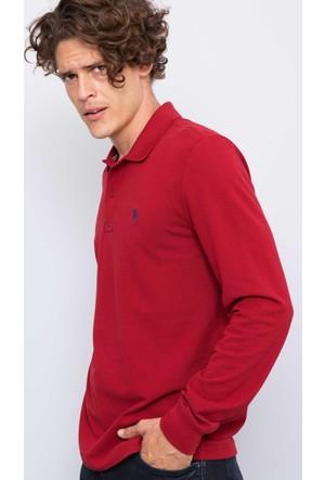 U.S. Polo Assn. Erkek Gtp01Sk7 Sweatshirt Kırmızı
