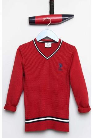 U.S. Polo Assn. Erkek Çocuk Bts01Sk7 Kazak