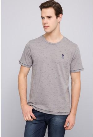 U.S. Polo Assn. Erkek Robb T-Shirt Gri