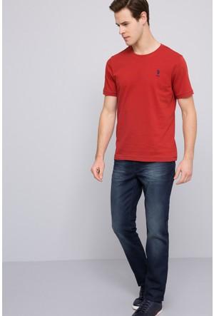 U.S. Polo Assn. Erkek Robb T-Shirt Kırmızı