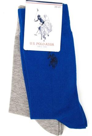 U.S. Polo Assn. Erkek Jacksk7 Çorap Lacivert