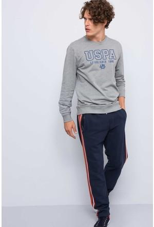 U.S. Polo Assn. Erkek Nate Sweatshirt Gri