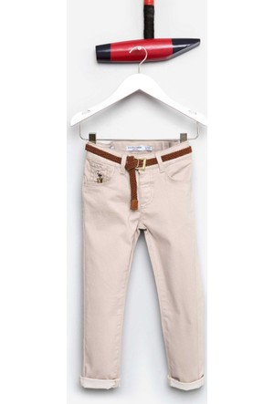 U.S. Polo Assn. Kız Çocuk Demy Pantolon Gri