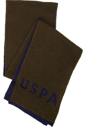 U.S. Polo Assn. Erkek Santask7 Atkı Yeşil