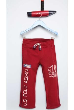 U.S. Polo Assn. Erkek Çocuk Millerr Eşofman Kırmızı