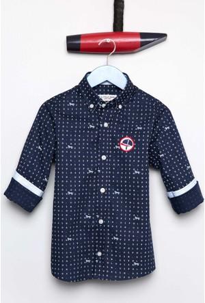 U.S. Polo Assn. Erkek Çocuk Veletson Gömlek Lacivert