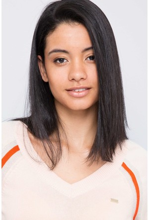 U.S. Polo Assn. Kadın Desi Kazak Bej