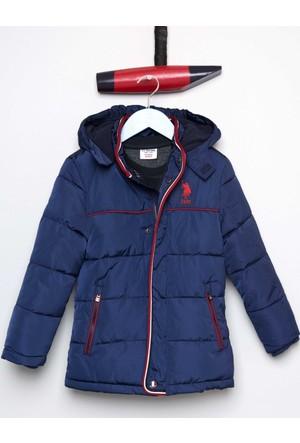 U.S. Polo Assn. Erkek Çocuk Furyk17 Mont Lacivert