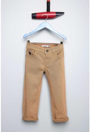 U.S. Polo Assn. Erkek Çocuk Carloskids7S Pantolon Kahverengi