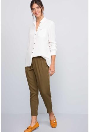 U.S. Polo Assn. Kadın Hazel7S Pantolon Haki