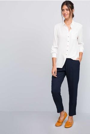 U.S. Polo Assn. Kadın Hazel7S Pantolon Lacivert