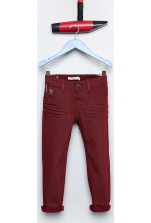 U.S. Polo Assn. Erkek Çocuk Mikekids7S Pantolon Kırmızı
