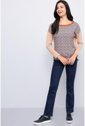 U.S. Polo Assn. Kadın Stella Kot Pantolon Lacivert