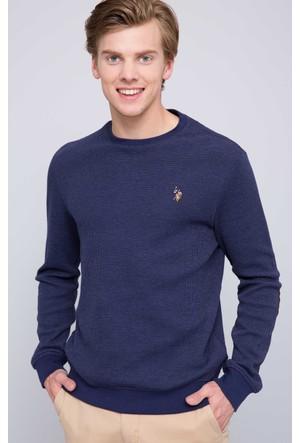 U.S. Polo Assn. Erkek Tilburgsk7 Sweatshirt Lacivert