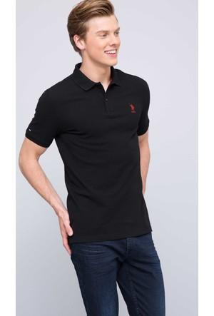 U.S. Polo Assn. Erkek Tp04Sk7 T-Shirt Siyah