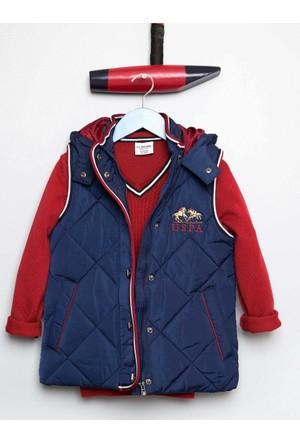 U.S. Polo Assn. Erkek Çocuk Alberto Yelek Lacivert