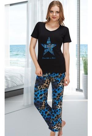 Miss Liska Yarım Kol Pijama Takım 1302