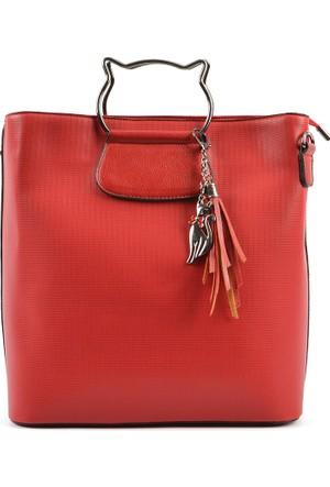 Axpe Kadın El Çantası Kırmızı