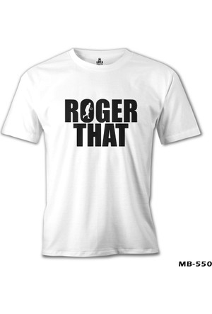 Lord T-Shirt Tennis - Roger That Beyaz Erkek T-Shirt
