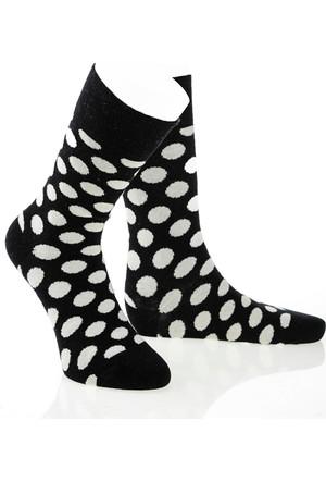 Pixter&Bro Trend Happy Black Erkek Soket Çorap