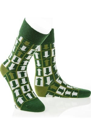 Pixter&Bro Trend Happy Way Erkek Soket Çorap