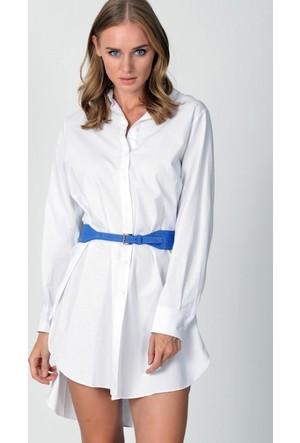 Eka Uzun Kol Gömlek Elbise