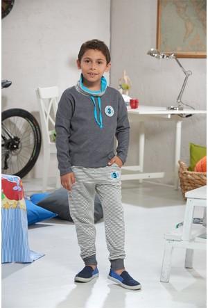 Zeyzey Erkek Çocuk Pijama Takımı 7374
