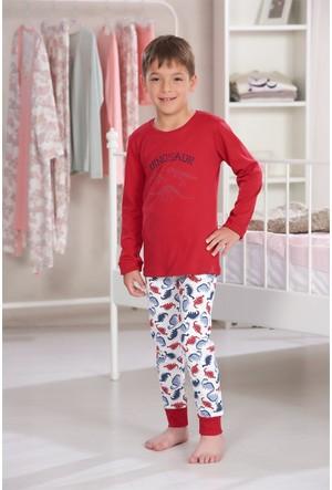 Zeyzey Baskılı Erkek Çocuk Pijama Takımı 7558