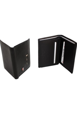 Pascal Polo Psl 17Czd504 S 2 Siyah Hakiki Deri Kartlık Cüzdan