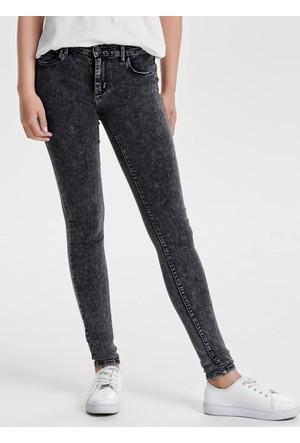 Only Bayan Kot Pantolon 15138875 Raın Reg Random Grey Skınny Fıt Jeans