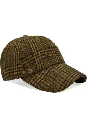 Pozze Ekoseli Kaşe Kep - Kışlık Erkek Şapka