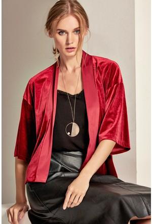 Lafaba Kadife Kimono
