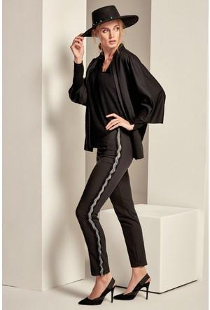 Lafaba Yanı Şeritli Pantolon