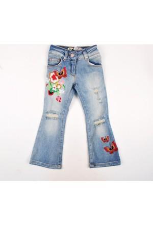 Puledro Kids Kız Çocuk Pantolon B71K-4609