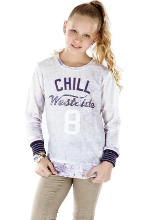 Puledro Kids Kız Çocuk Sweatshirt B51K-8091