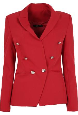 Ayhan Bayan Ceket Kırmızı 90203