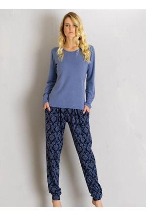 Ayyıldız 635 Uzun Kollu Pijama Takımı
