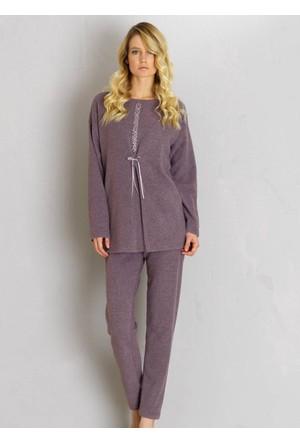 Ayyıldız 655 Yuvarlak Yakalı Pijama Takımı