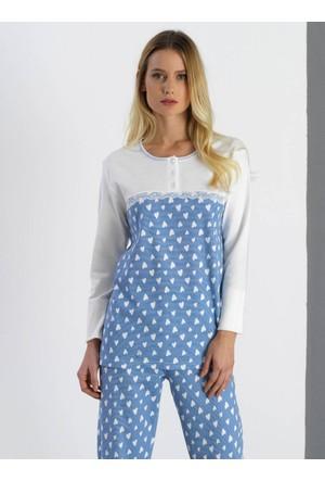 Ayyıldız 2032 Yuvarlak Yakalı Pijama Takımı