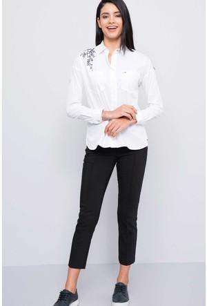 U.S. Polo Assn. Kadın Dolce Pantolon Siyah