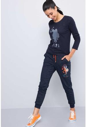 U.S. Polo Assn. Kadın Honovi Sweatshirt Lacivert