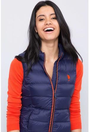 U.S. Polo Assn. Kadın Miak17 Yelek Lacivert